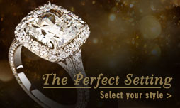 We have the perfect wedding and engagement ring settings