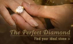 The perfect diamond ring, find your ideal stone