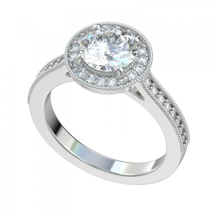 diamond engagement setting antique settings illusion s products collections img deco ring platinum art