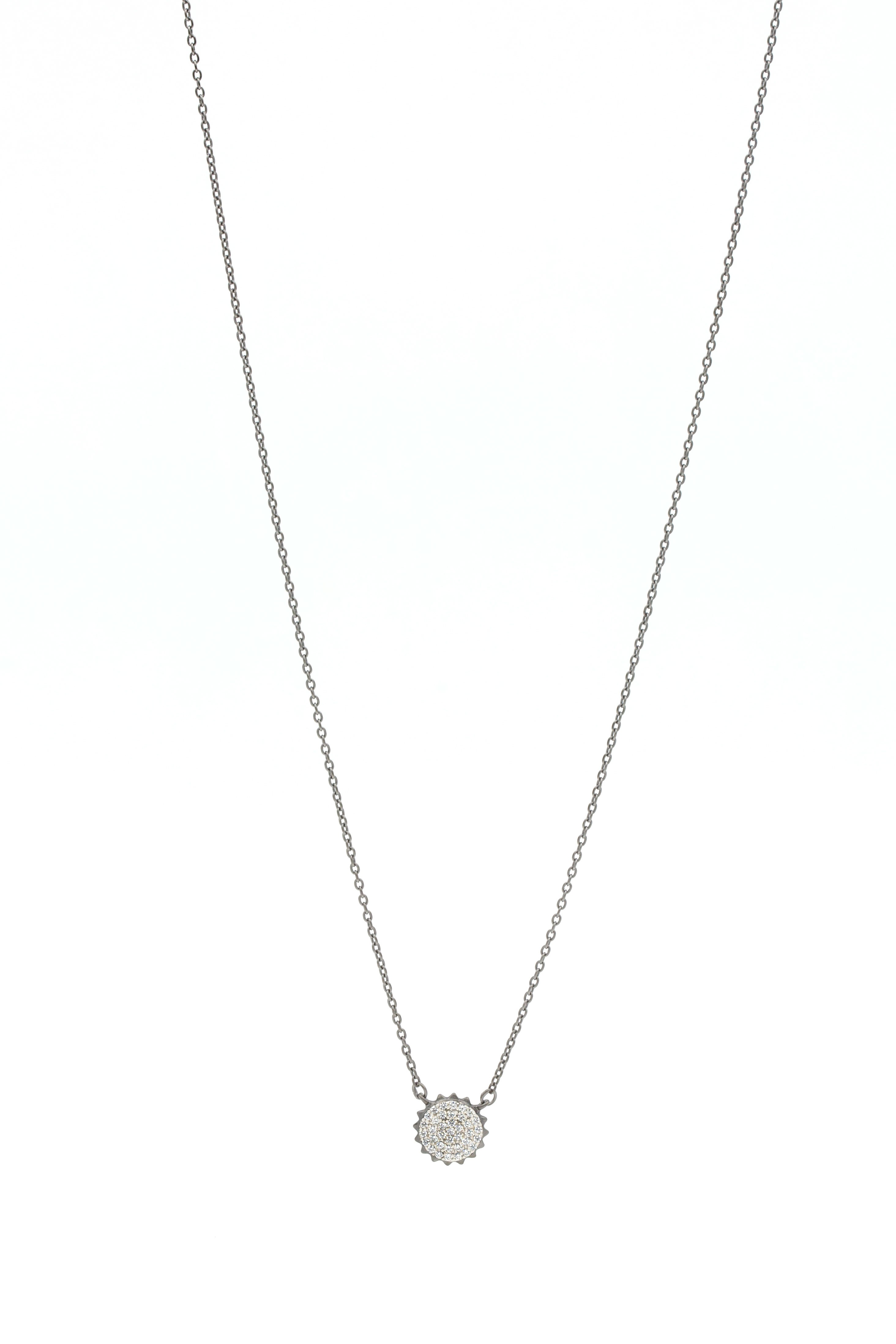 Pavé Pendant Necklace
