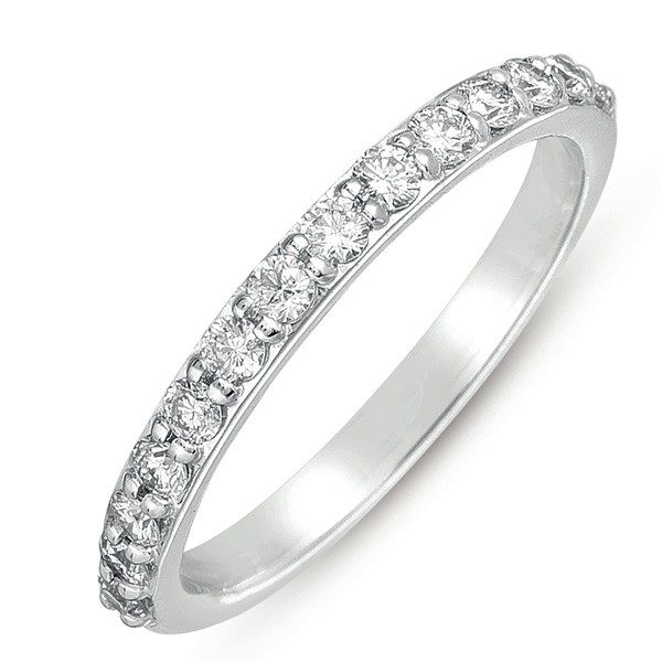 Raised Bead Diamond Band