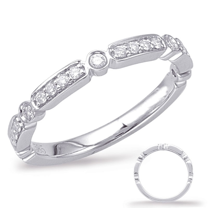 Alternating Bar Diamond Band