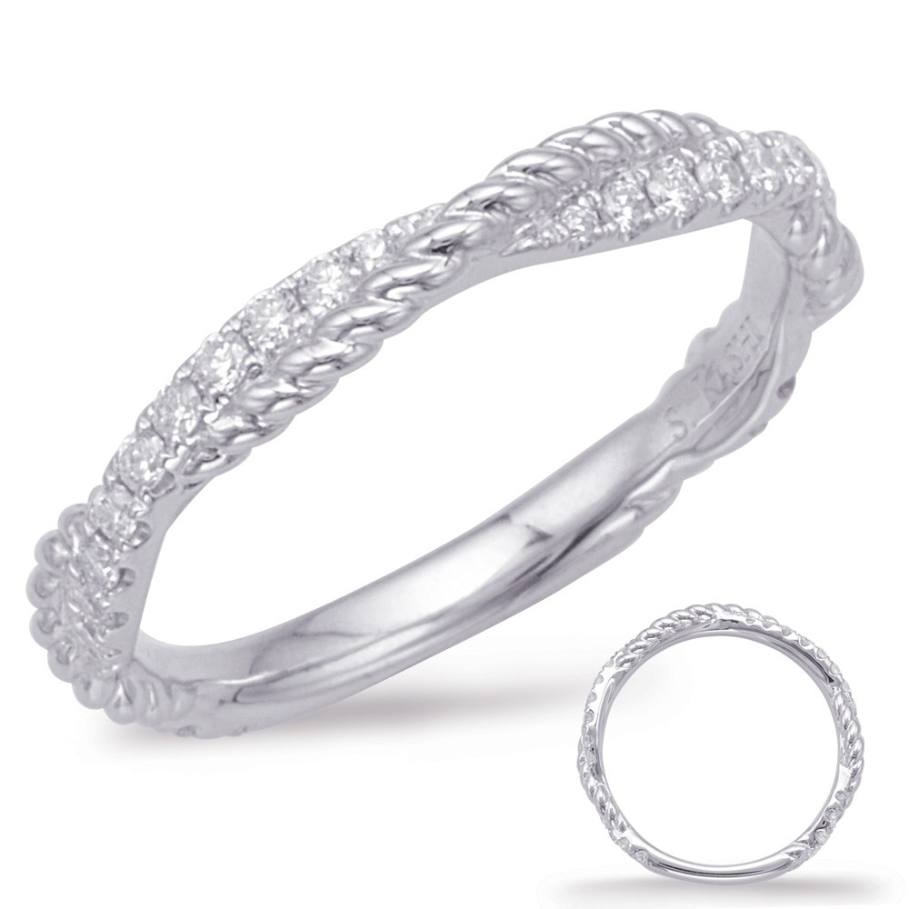Diamond Rope Twist Band