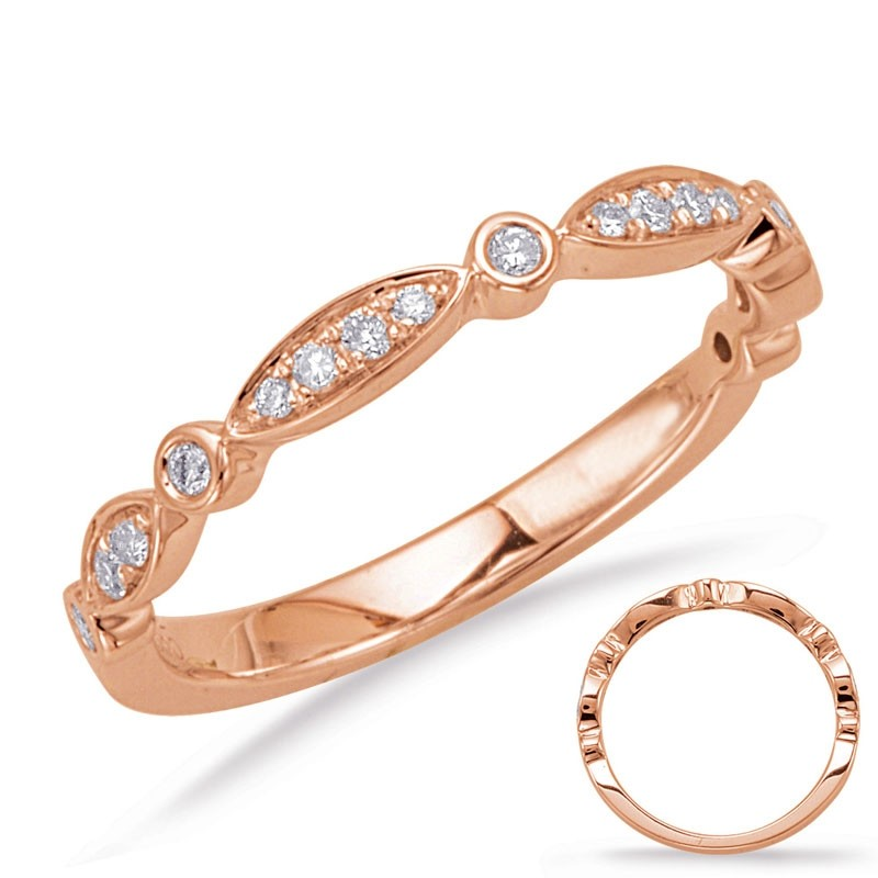 Round and Marquise Pattern Band