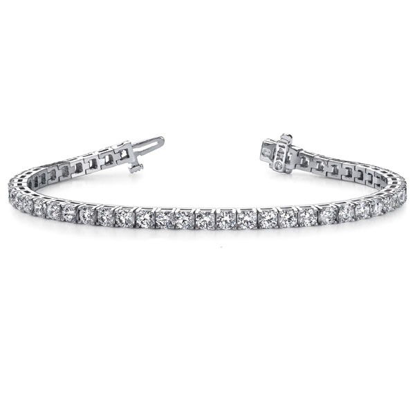 3MM Diamond Tennis Bracelet