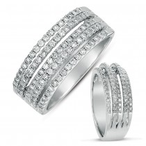 White Gold Micro Pave Band