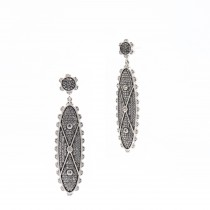 Signet Drop Earrings