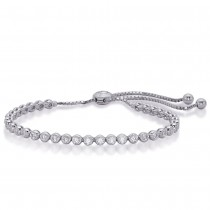 Diamond Mini Bezel Bracelet 1.62cttw