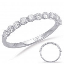 Single Prong Diamond Ring .66ctw
