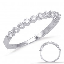 Single Prong Diamond Ring .44ctw