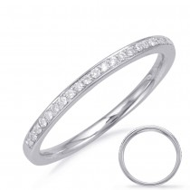 Slim Bead Bright Diamond Band