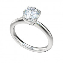 Classic Four Engagement Ring - Platinum
