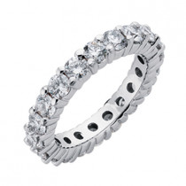 Closed Gallery Diamond Eternity Band