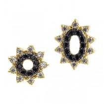 Spiked Oval Studs