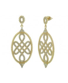 Signet Love Knot Earrings