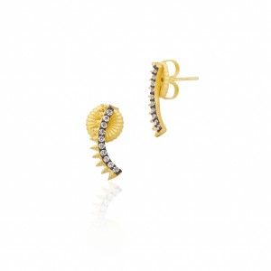 Spiked Climber Earrings