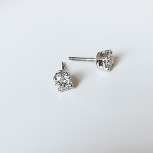 Lab Created Diamond Studs 14kw 1.50ctw