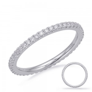 Delicate Diamond Eternity Band