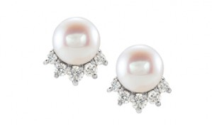 Diamond and Pearl Petite Studs