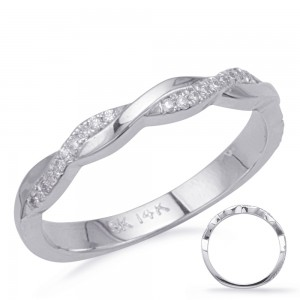 Half Twist Diamond Band