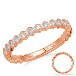 Petite Geo Diamond Ring RG