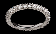 Diamond Eternity Rings - Chicago