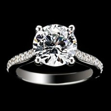 Diamond Engagement Ring by Ethan Lord