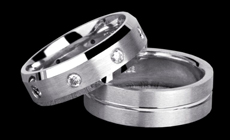 Tungsten Carbide Rings - Chicago