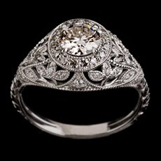 Vintage Engagement Ring by Ethan Lord